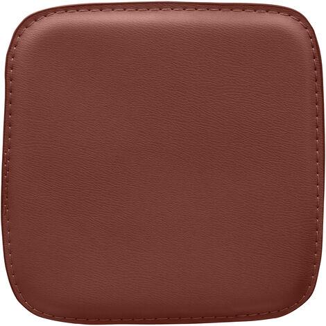 Coussin carré avec aimants pour tabouret Tolix Style Jaune