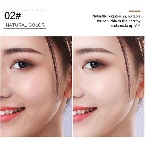 Coussin d'air Mushroom Head Natural Moisturizing Oil Control Concealer Facial Blemish Concealer Foundation CC Cream for Women Girls