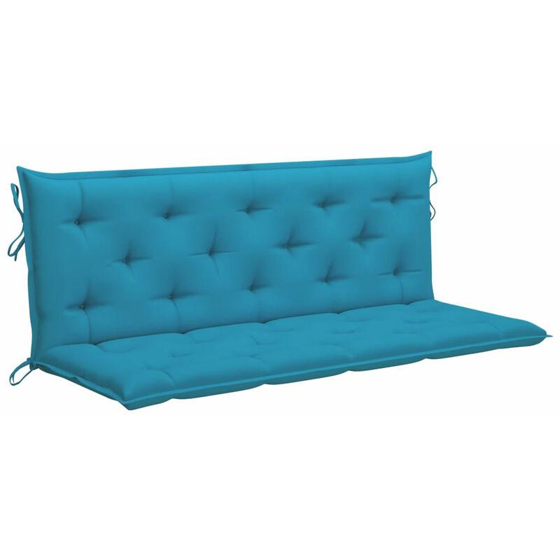 Coussin de balancelle Bleu clair 150 cm Tissu