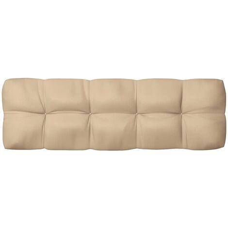 Coussin de canapé palette Beige 120x40x12 cm7110-A