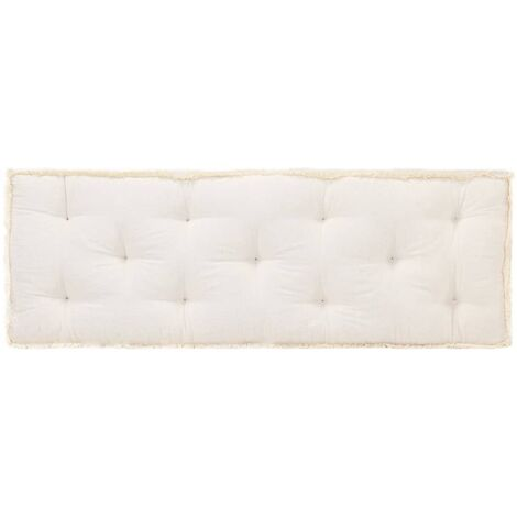 Coussin de canapé palette Beige 120x40x7 cm