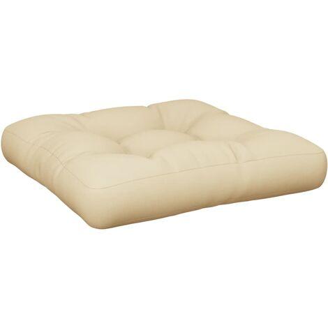 Coussin de canapé palette Beige 60x60x12 cm