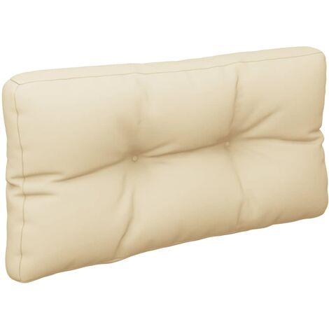 Coussin de canapé palette Beige 70x40x12 cm