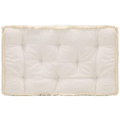 Coussin de canapé palette Beige 73x40x7 cm