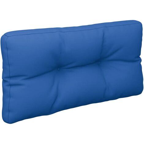 Coussin de canapé palette Bleu royal 80x40x12 cm