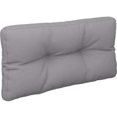 Coussin de canapé palette Gris 80x40x12 cm