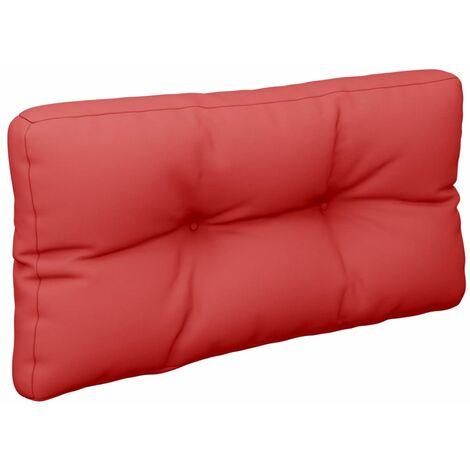 Coussin de canapé palette Rouge 80x40x12 cm