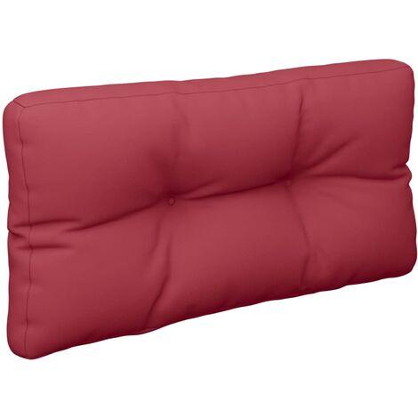 Coussin de canapé palette Rouge bordeaux 80x40x12 cm