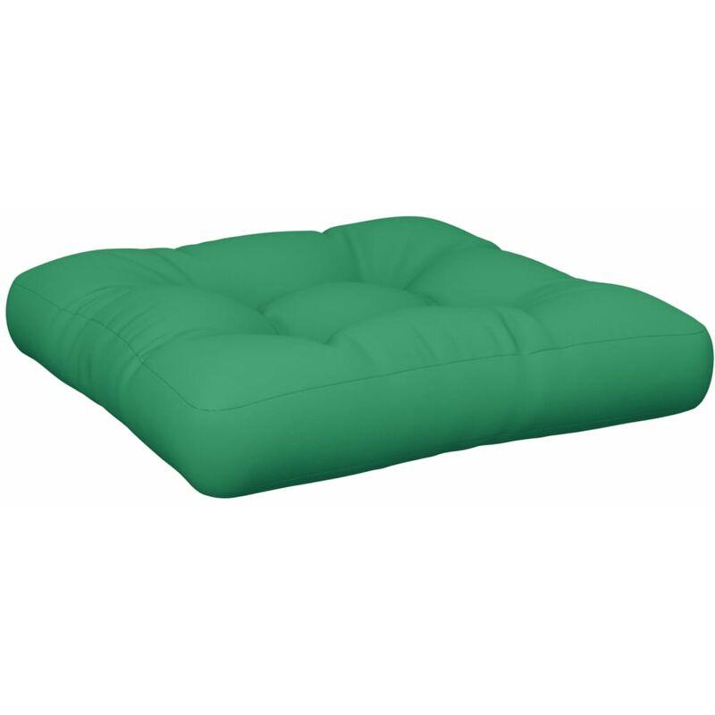 Coussin de canapé palette Vert 60x60x12 cm