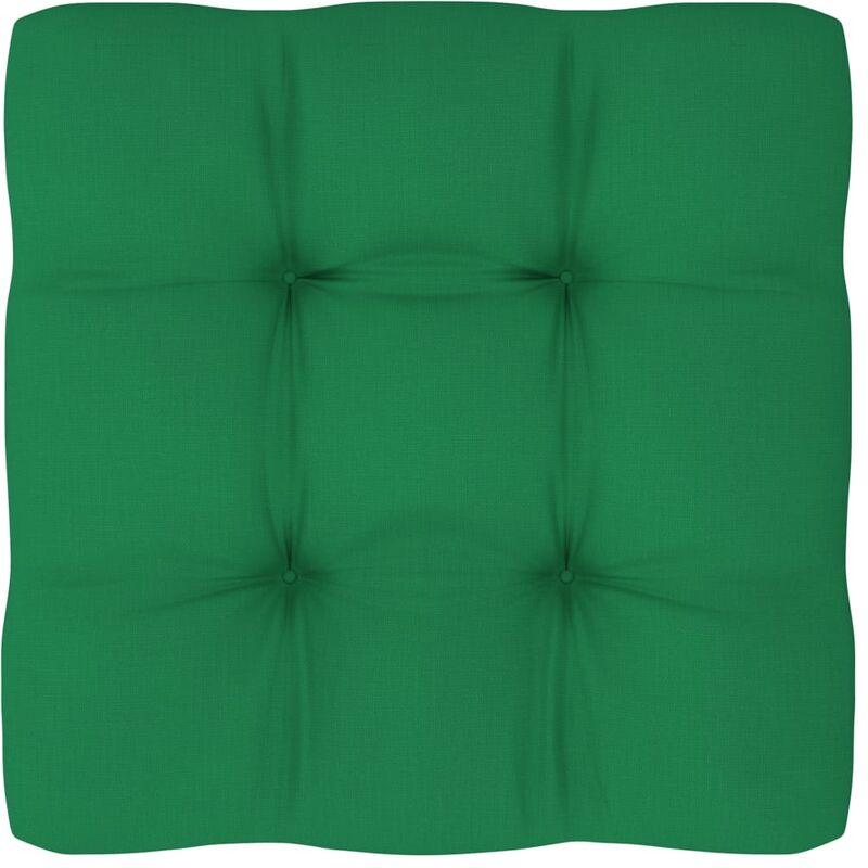 Coussin de canapé palette Vert 80x80x12 cm