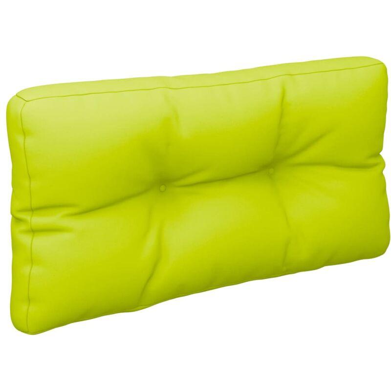 Coussin de canapé palette Vert vif 70x40x12 cm