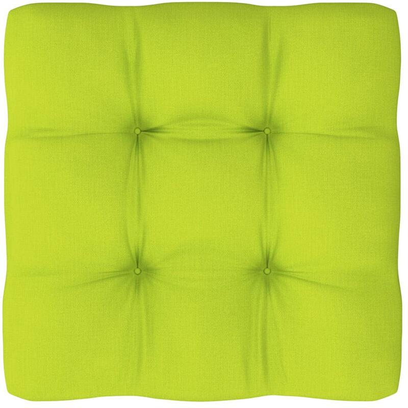 Coussin de canape palette Vert vif 80x80x12 cm