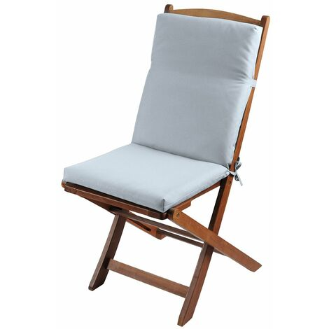 Coussin de fauteuil 40x90 cm Farniente perle - Perle