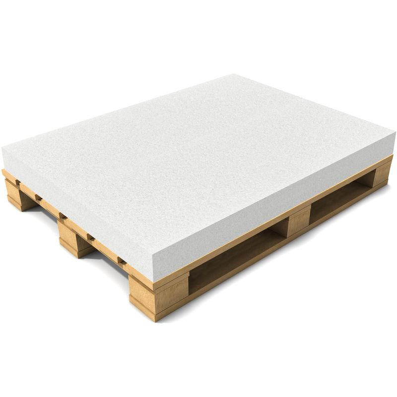 Coussin de palette sans housse / Éponge de palette 120 x 80 x 10 cm Blanc