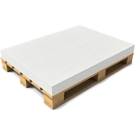 """main image of """"Coussin de palette sans housse / Éponge de palette 120 x 80 x 10 cm Blanc"""""""