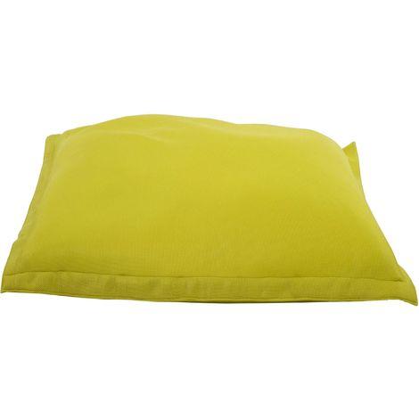 Coussin de piscine Big Bag 175 cm Citron