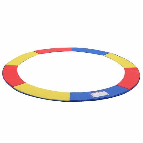 Coussin de protection Ø183cm/Ø244cm/305cm/366cm/Ø427cm au choix ressorts pour Trampoline résistant au UV anti-déchirement