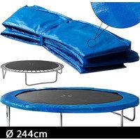 Coussin de protection des ressorts 366cm PVC bleu