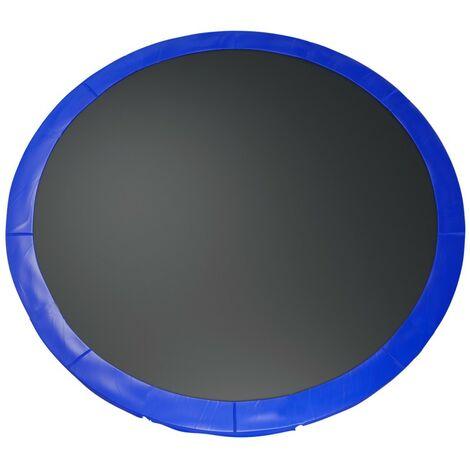 Coussin de protection des ressorts pour Trampoline 12Ft / 366 cm - Bleu - PVC - Bleu