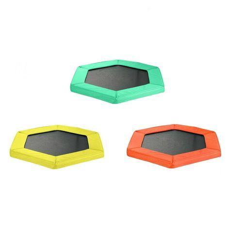 Coussin de Protection et Sécurité de Remplacement pour Mini Trampoline Hexagonal 127 cm