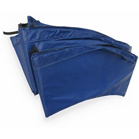 Coussin de protection ressorts trampoline 250cm - 22mm - Bleu