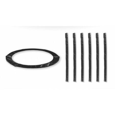 Coussin de protection universel pour Trampoline 10FT - 305cm + 6 Housses de perche - Choix Couleurs