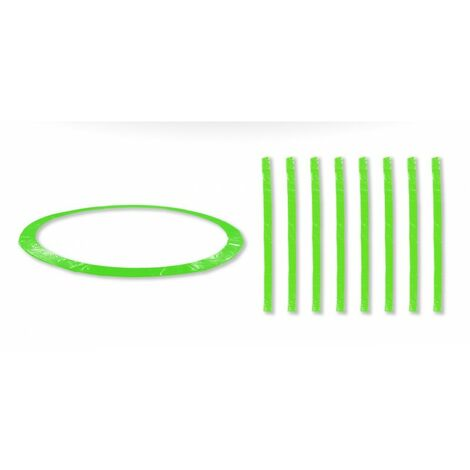 Coussin de protection universel pour Trampoline 10FT - 305cm + 8 Housses de perche - Choix Couleurs