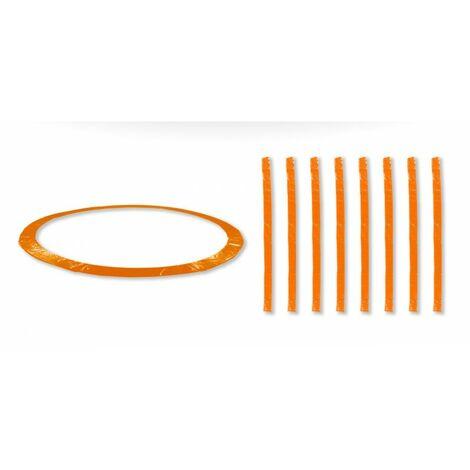 Coussin de protection universel pour Trampoline 12FT - 366cm + 8 Housses de perche - Choix Couleurs