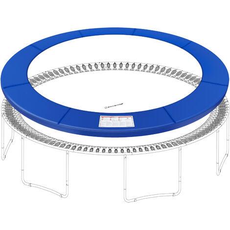 Coussin de sécurité de trampoline de remplacement, Rechange amovible, diamètre 305cm/366cm, résistant aux rayons UV, anti-déchirure, taille standard