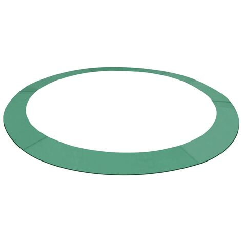 Coussin de sécurité PE Vert pour trampoline rond 4,57 m