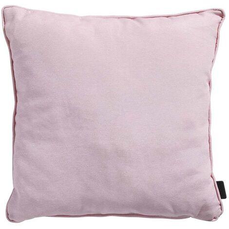 Coussin déco pour salon de jardin Panama Soft Pink 45 x 45 cm