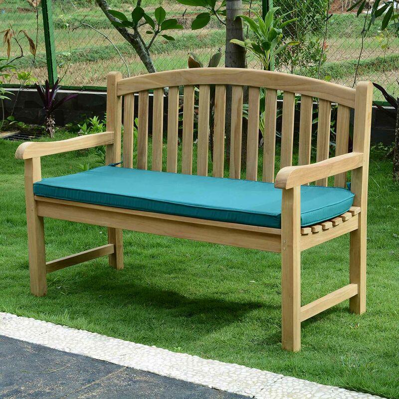 Coussin Vert pour banc 130 cm - Vert