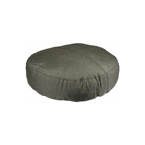 Coussin karpaten rond + fermeture eclair kaki 70cm