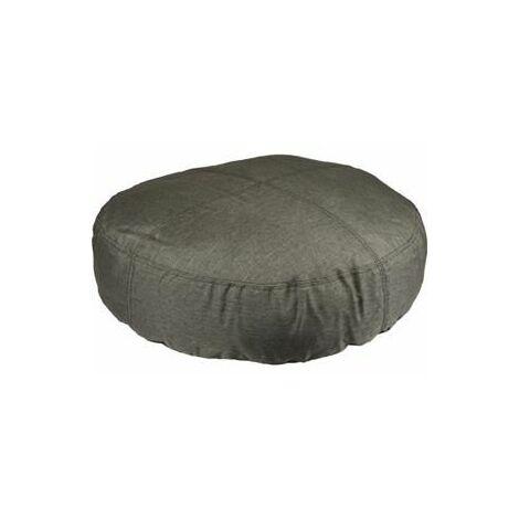 Coussin karpaten rond + fermeture eclair kaki 90cm