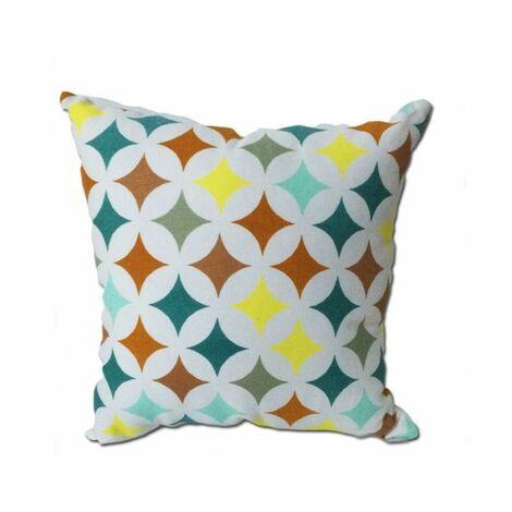 Coussin motif étoile 45*45 - STAR - Multicolore