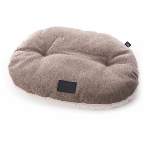Coussin oval faubourg t105 chataigne