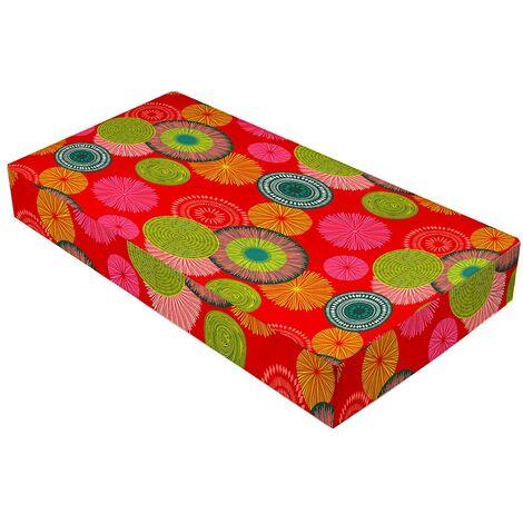 Coussin palette 120x80x10 cm Tahiti - Rose