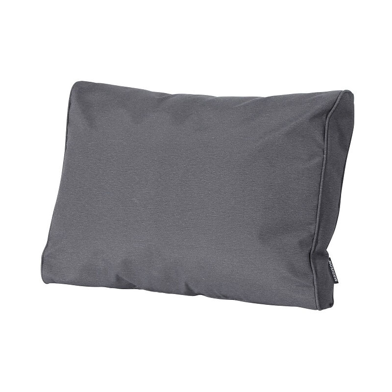 Coussin palette dossier 60 x 40 cm-Outdoor Panama Grey - Outdoor Panama Grey - Madison