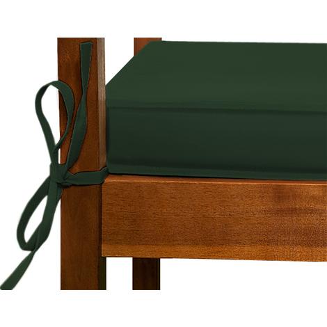Coussin pour banc Vert - Assise Banc- Meuble Mobilier de jardin ...
