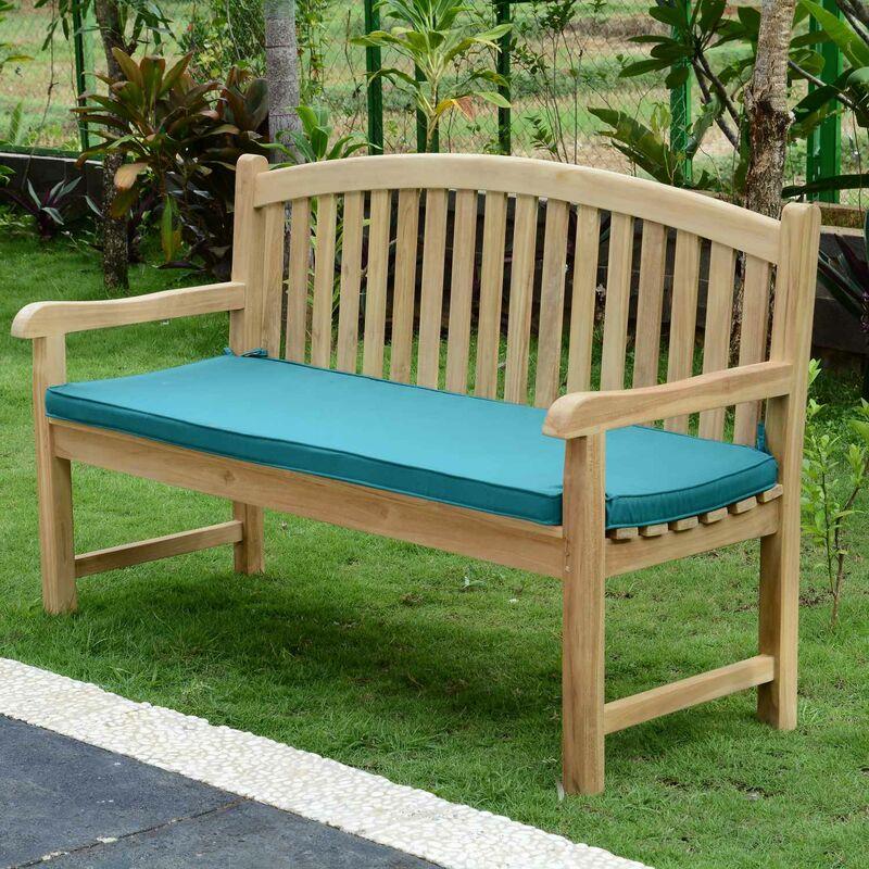 Coussin vert pour banc 150 cm - Vert