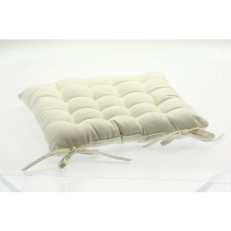 Coussin Pour Chaise De Jardin Ivoire 38 X Cm