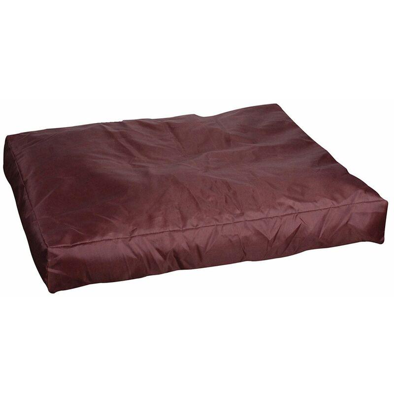 Coussin pour chien imperméable 55x75 marron - Marron