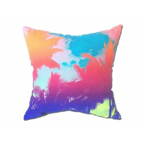 Coussin style palmier 45*45 - PALM - Multicolore