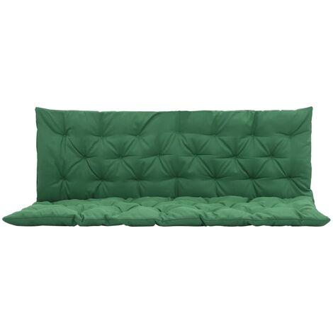 Coussin vert pour balancelle 150 cm
