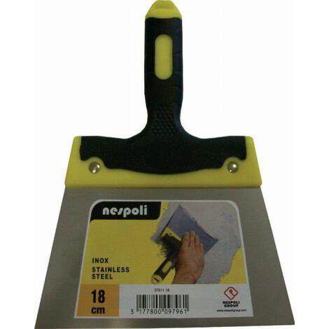 Couteau à enduire inox bi-matière 12 cm NESPOLI - 37011 12