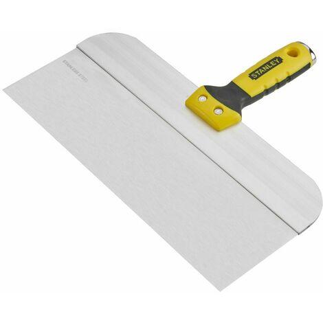 Couteau à enduire lame en acier 300 mm STANLEY