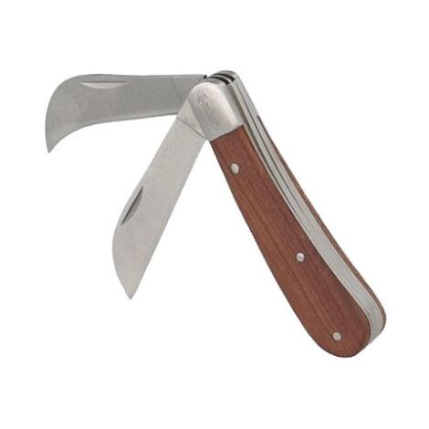 Couteau d'électricien 2 lames AGI ROBUR