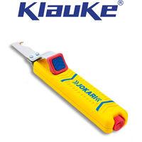 Couteau d'électricien universel et couteau intérieur de rechange, Valeurs de dénudage du &Oslash : 8-28 mm, Modèle sans lame