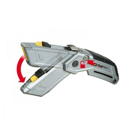 Couteau pliant Stanley double lames FATMAX - XTHT0-10502
