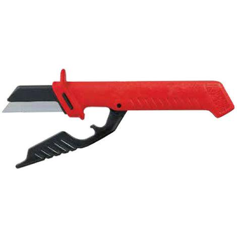 Couteau pour câbles Intercable avec protège-lame intégré AV3920